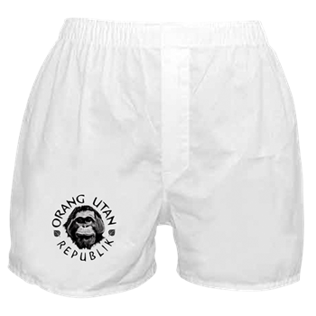 boxers with logo