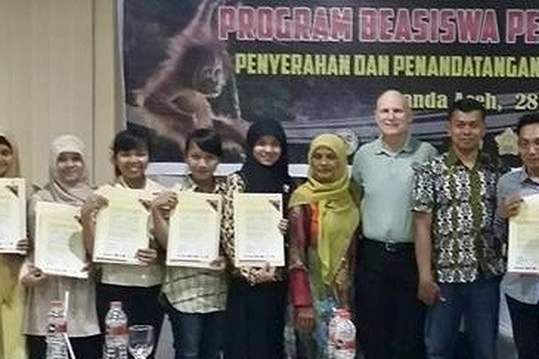 Orangutan Caring Scholarship Giving Appeal